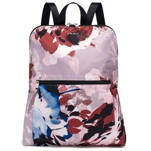 NEW TUMI Packable floral nylon Travel Backpack